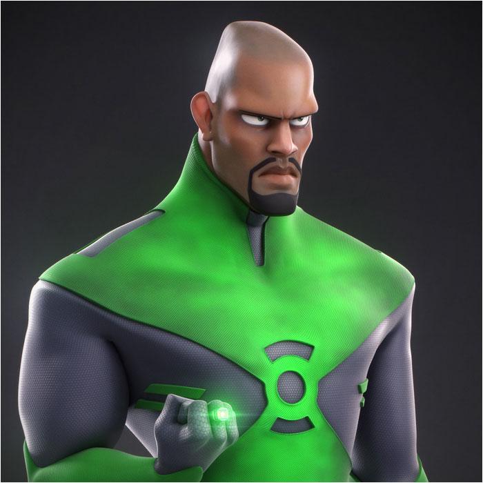 Green Lantern: Fan Art