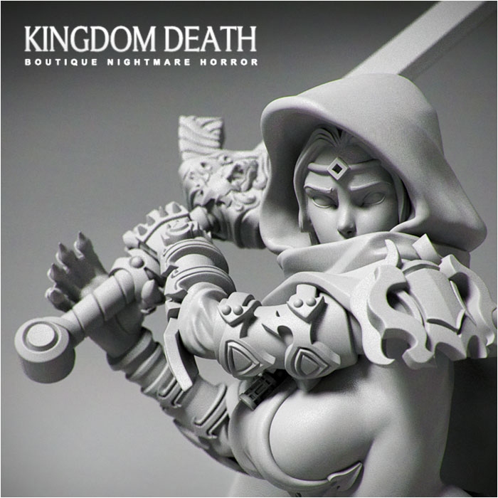 Kingdom Death: Pinup Order Knight – Miniature
