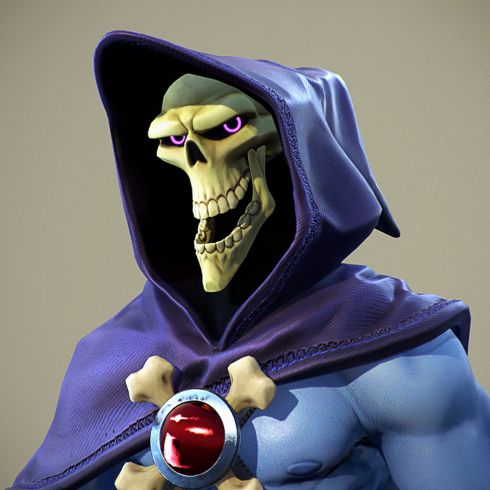 Skeletor: Fan Art Real-time